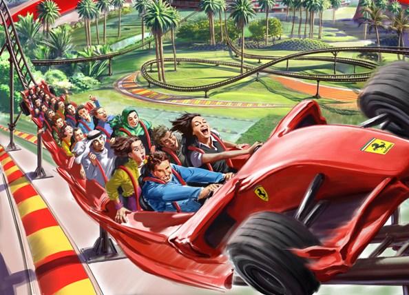 Ferrari Theme Park 1